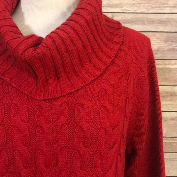 a4d8863b3a Banana Republic Sweaters - 🛑SALE🛑 Cable knit turtleneck   cowl neck  sweater